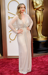 Julie Delpy arriving to the 2014 Oscars at the Hollywood and Highland Center in Hollywood, California, USA,  Sunday, 2nd March 2014. Picture by Hollywood Bubbles / i-Images<br /> UK ONLY