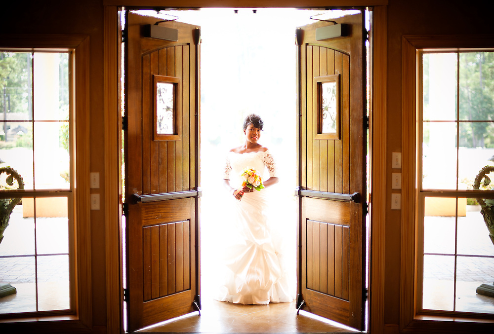 Joi Short bridal portrait Tuesday, August 17, 2010 at Chateau Polonez in Houston. (Photo © Bahram Mark Sobhani)