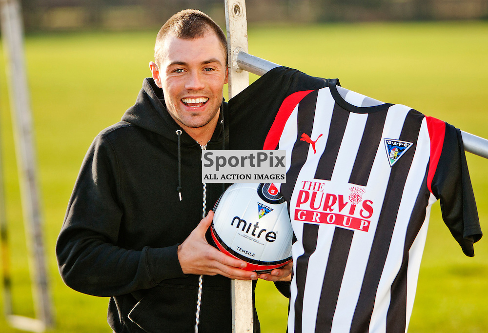 The Clydesdale Bank Scottish Premier League, Season 2011/12.Dunfermline Athletic Football Club - News conference..02-02-12...Jordan McMillan in this afternoons Dunfermline Athletic FC news conference...At Pitreavie- Dunfermline Academy of sport, Dunfermline...Picture, Craig Brown ..Thursday 2nd February 2012.