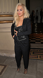Singer Rita Ora attends The London 2014 Stella McCartney Green Carpet Collection during London Fashion Week at The Royal British Institute in London, UK. 14/09/2014<br />BYLINE MUST READ : GOTCHAIMAGES.COM<br /><br />Copyright by © Gotcha Images Ltd. All rights reserved.<br />Usage of this image is conditional upon the acceptance <br />of Gotcha Images Ltd, terms and conditions available at<br />www.gotchaimages.com