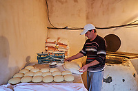 Georgie, Svanetie, la Haute Svanetie, Mestia, patrimoine mondial de l'UNESCO, boulangeriei // Georgia, Svaneti, Mestia, UNESCO world heritage, bakery