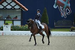 Nyrerod Emilie, (SWE), Miata<br /> Qualification Grand Prix Kur<br /> Horses & Dreams meets Denmark - Hagen 2016<br /> © Hippo Foto - Stefan Lafrentz