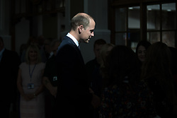 © Licensed to London News Pictures . 14/09/2017 . Liverpool , UK . The Duke of Cambridge , Prince William , meets staff during a visit to Life Rooms in Walton . Life Rooms provides community support to help people recover from mental health issues . Photo credit : Joel Goodman/LNP