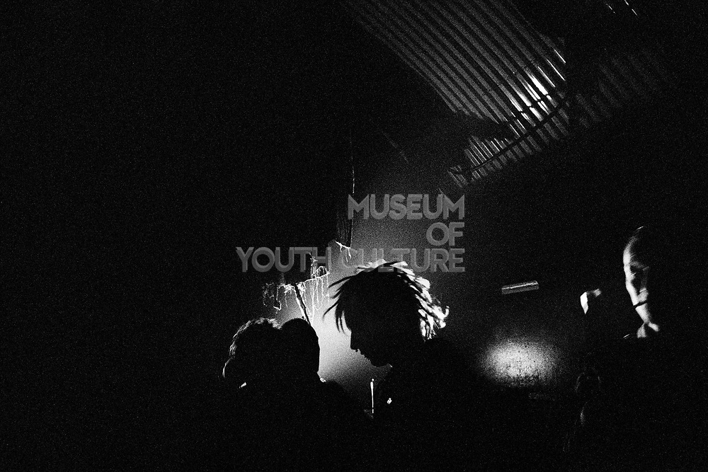 Ravers at Hidden Club, Vauxhall, London, UK, February 2015