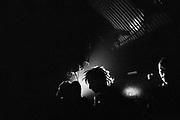 Ravers at Hidden Club, Vauxhall, London, UK, February 2015