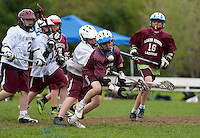 Lakes Region Lacrosse U13 boy versus Goffstown May 22, 2011.