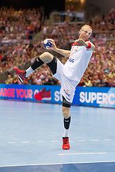 09.04.2016, Ergo Arena, Gdansk, POL, IHF Herren, Olympia Qualifikation, Polen vs Chile, im Bild Karol Bielecki // during the IHF men's Olympic Games handball qualifier between Poland and Chile at the Ergo Arena in Gdansk, Poland on 2016/04/09. EXPA Pictures © 2016, PhotoCredit: EXPA/ Newspix/ Tomasz Zasinski<br /> <br /> *****ATTENTION - for AUT, SLO, CRO, SRB, BIH, MAZ, TUR, SUI, SWE only*****