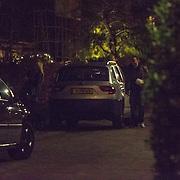 NLD/Hilversum/20121120 - Vivian Reys avondje uit met ex schaatsdanspartner Nick Keagan