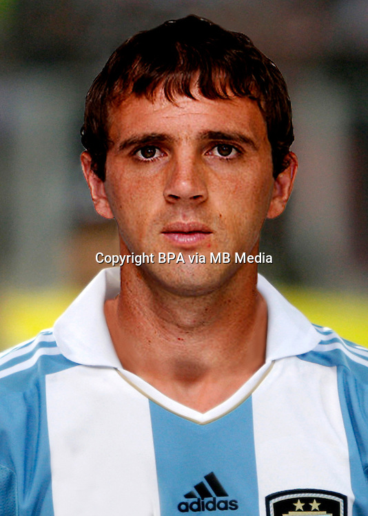 Football Fifa Brazil 2014 World Cup / <br /> Argentina National Team - <br /> Walter Damian Montillo of Argentina