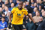 Wolverhampton Wanderers defender Willy Boly (15) during the Premier League match between Chelsea and Wolverhampton Wanderers at Stamford Bridge, London, England on 10 March 2019.