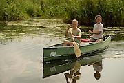 canoe on the Peene river