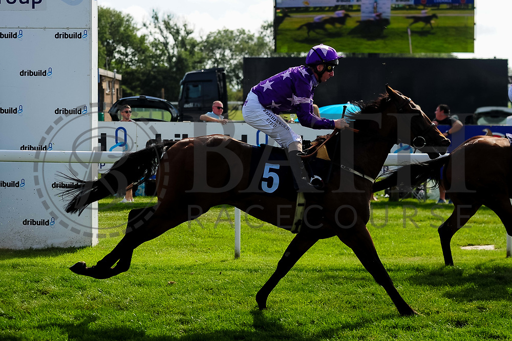 Newyorkstateofmind ridden by Martin Dwyer and trained by William Muir in the Visit Valuerater.Co.Uk Nursery Handicap race.  - Ryan Hiscott/JMP - 15/09/2019 - PR - Bath Racecourse - Bath, England - Race Meeting at Bath Racecourse