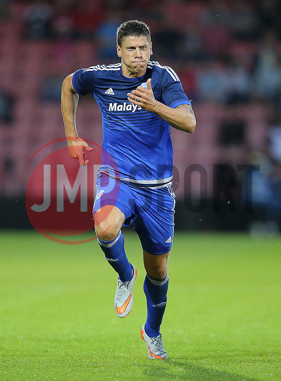 Alex Revell of Cardiff City - Mandatory by-line: Paul Terry/JMP - 07966386802 - 31/07/2015 - SPORT - FOOTBALL - Bournemouth,England - Dean Court - AFC Bournemouth v Cardiff City - Pre-Season Friendly