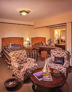 The Historic Plains Hotel in Cheyenne, Wyoming.
