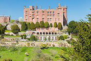 April at Powis Castle