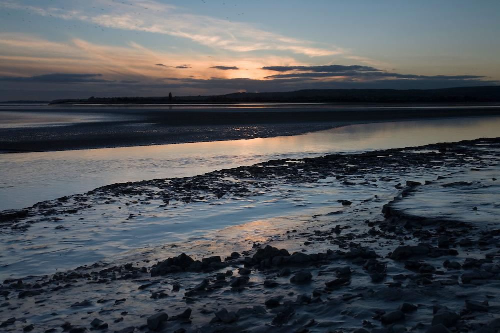 River Severn at dusk, Fretherne