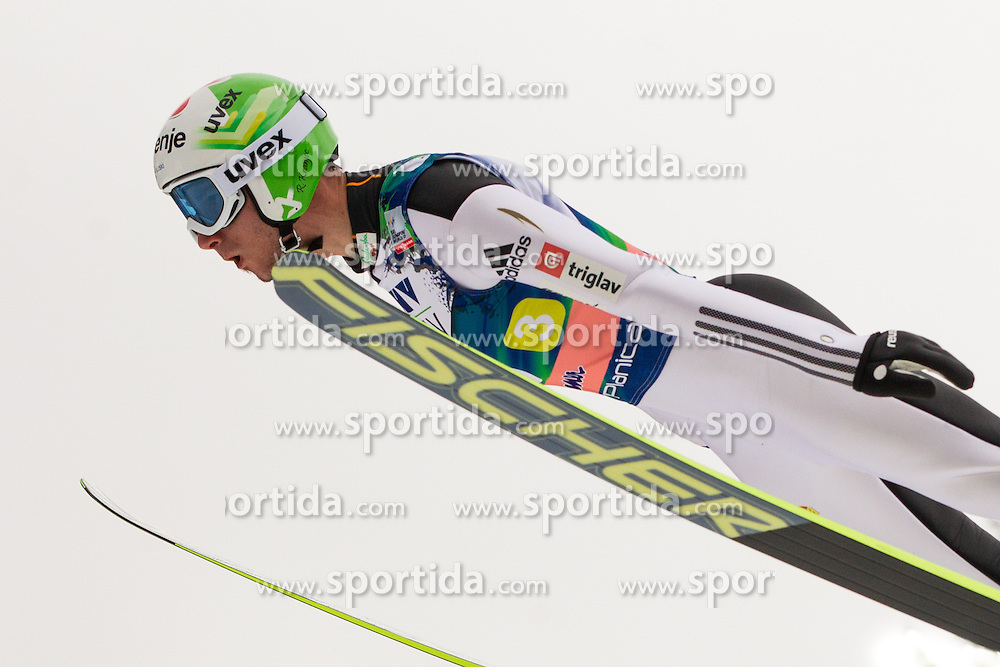 Kranjec Robert of Slovenia during Large Hill Team Event at 3rd day of FIS Ski Jumping World Cup Finals Planica 2014, on March 22, 2014 in Planica, Slovenia. Photo by Grega Valancic / Sportida