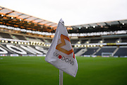 MK Dons corner flag and stadium MK generic shot during the EFL Sky Bet League 1 match between Milton Keynes Dons and Bury at stadium:mk, Milton Keynes, England on 27 September 2016. Photo by Dennis Goodwin.
