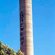 The Brewery smokestack