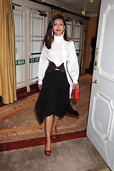 FARHEEN KHAN ALLSOPP at a dinner hosted by the Fortune Forum at The Dorchester, Park Lane, London W1 on 2nd July 2008.<br />