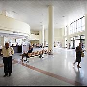 Hall di ingresso dell' Ospedale S.Maria di Misercordia Albenga (SV) .22 agosto 2011