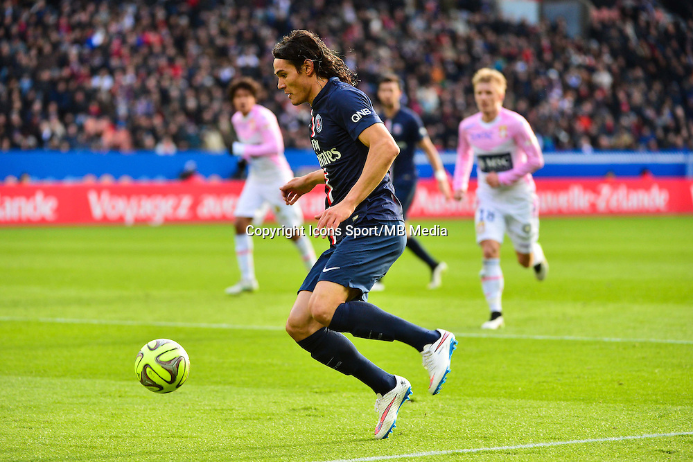 Edinson CAVANI - 18.01.2015 - Paris Saint Germain / Evian Thonon - 21eme journee de Ligue 1<br />