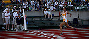 05/23/2009 - Benson's Kayla Smith (83) leads the field while crossing the finish line in the 6A Girls 200 Meter Dash. The 2009 OSAA/U.S. Bank/Les Schwab Tires 6A-5A-4A Track and Field State Championships were run at Hayward Field in Eugene, Oregon.....KEYWORDS:  City, Portland, sports, Oregon, high school, OSAA, boys, girls, PIL, run, University, team