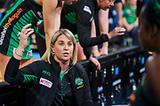 Fever coach Stacey Rosman.<br /> PERTH, AUSTRALIA - AUGUST 26: West Coast Fever vs the Sunshine Coast Lightning during the Suncorp Super Netball Grand Final match from Perth Arena - Sunday 26th August 2018 in Perth, Australia. (Photo by Daniel Carson/dcimages.org/Netball WA)