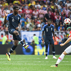 Paul Pogba of France during the World Cup Final match between France and Croatia at Luzhniki Stadium on July 15, 2018 in Moscow, Russia. (Photo by Anthony Dibon/Icon Sport)
