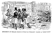 "The Ladies of the Creation; Or, how I was cured of being a strong-minded woman. Efficiency of female police in what is vulgarly called a ""Jolly Row."""