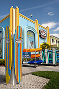 World famous Ron Jon Surf Shop in Cocoa Beach, Florida.