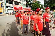 07 JUNE 2014 - YANGON, MYANMAR:    PHOTO BY JACK KURTZ