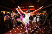 Sufi Soul Sangeet performing at Bali Spirit Festival, Arma, Ubud, Bali, Indonesia, 20/03/2014.