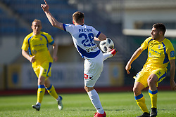 Tilen Pecnik of NK Celje during football match between NK Domzale and NK Celje in Round #20 of Prva liga Telekom Slovenije 2017/18, on April 18, 2018 in Sports Park Domzale, Domzale, Slovenia. Photo by Urban Urbanc / Sportida