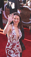 Andie McDowell.Golden Globes Awards 2002.Beverly Hilton Red Carpet.Sunday January 20, 2002.Los Angeles, Ca USA.Photo By CelebrityVibe.com..
