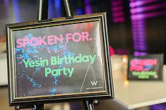Yesin Birthday Party   Trace Restaurant   W Hotel San Francisco