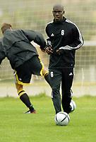 Fotball<br /> La Manga<br /> 14.03.2004<br /> Trening AIK<br /> Foto: Morten Olsen, Digitalsport<br /> <br /> Pa Modou Kah - AIK