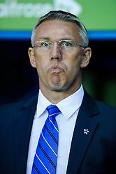 Manager Nigel Adkins (ENG) of Reading looks on - Photo mandatory by-line: Rogan Thomson/JMP - 07966 386802 - 14/04/2014 - SPORT - FOOTBALL - Madejski Stadium, Reading - Reading v Leicester City - Sky Bet Football League Championship.