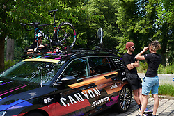 CANYON//SRAM Racing at Lotto Thuringen Ladies Tour 2018 - Stage 3, a 131 km road race starting and finishing in Schleiz, Germany on May 30, 2018. Photo by Sean Robinson/Velofocus.com
