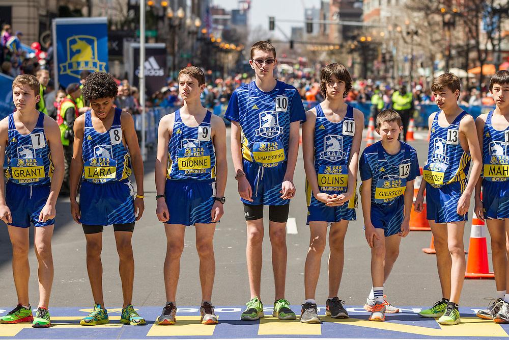 BAA Invitational Road Mile, Middle School 1000m, start