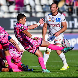 Piet Van Zyl of Paris during Top 14 match between Stade Francais and Union Bordeaux Begles on September 1, 2018 in Paris, France. (Photo by Aude Alcover/Icon Sport)