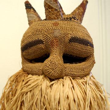 Trisolini masks exhibit: Johnny Hanson