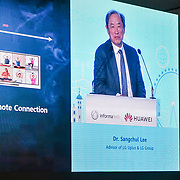 Speaker Dr Sangchul Lee, of Huawei Cloud Core Network. Soon we dont need computre you can use Huawel cloud at 5G World at Excel London, on 11 June 2019, UK.