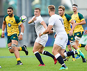 during the World Rugby U20 Championship  match England U20 -V- Australia U20 at The AJ Bell Stadium, Salford, Greater Manchester, England on June  15  2016, (Steve Flynn/Image of Sport)