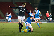 Craig Wighton of Dundee played his first full ninety minutes since returning from injury during St Johnstone v Dundee in the SPFL development league at McDiarmid Park, Perth<br /> <br />  - &copy; David Young - www.davidyoungphoto.co.uk - email: davidyoungphoto@gmail.com