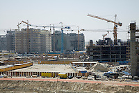 UAE Dubai construction project at the Mall of the Emirates on Sheikh Zayed Road