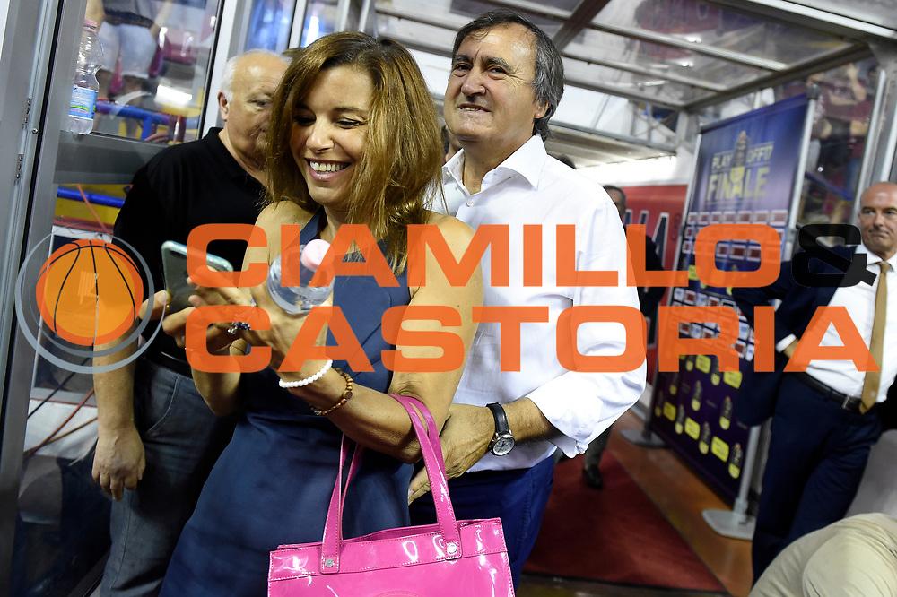 Luigi Brugnaro<br /> Umana Reyer Venezia - Dolomiti Energia Aquila Basket Trento<br /> Lega Basket Serie A 2016/2017<br /> Playoff, finale gara 5<br /> Venezia, 18/06/2017<br /> Foto M.Ceretti / Ciamillo-Castoria