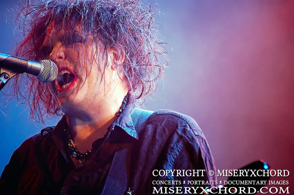 The Cure performs at Download Festival at Shoreline Amphitheatre in Mountain View California USA on October 6 2007