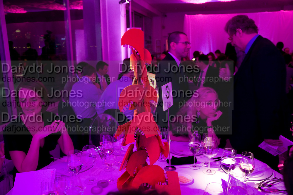 SAFFRON ALDRIDGE; JONATHAN NEWHOUSE; SIR CHRISTOPHER FRAYLING; FRANCA SOZZANI. ( SHE WON THE FASHION PRIZE FOR THE ITALIAN VOGUE BLACK ISSUE.)  , brit Insurance Design Awards 2009. Design Museum. London. 18 March 2009. *** Local Caption *** -DO NOT ARCHIVE-© Copyright Photograph by Dafydd Jones. 248 Clapham Rd. London SW9 0PZ. Tel 0207 820 0771. www.dafjones.com.<br /> SAFFRON ALDRIDGE; JONATHAN NEWHOUSE; SIR CHRISTOPHER FRAYLING; FRANCA SOZZANI. ( SHE WON THE FASHION PRIZE FOR THE ITALIAN VOGUE BLACK ISSUE.)  , brit Insurance Design Awards 2009. Design Museum. London. 18 March 2009.