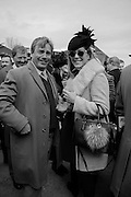 ALEX BARRELL; VISCOUNTESS DAVENTRY, The Cheltenham Festival Ladies Day. Cheltenham Spa. 11 March 2015